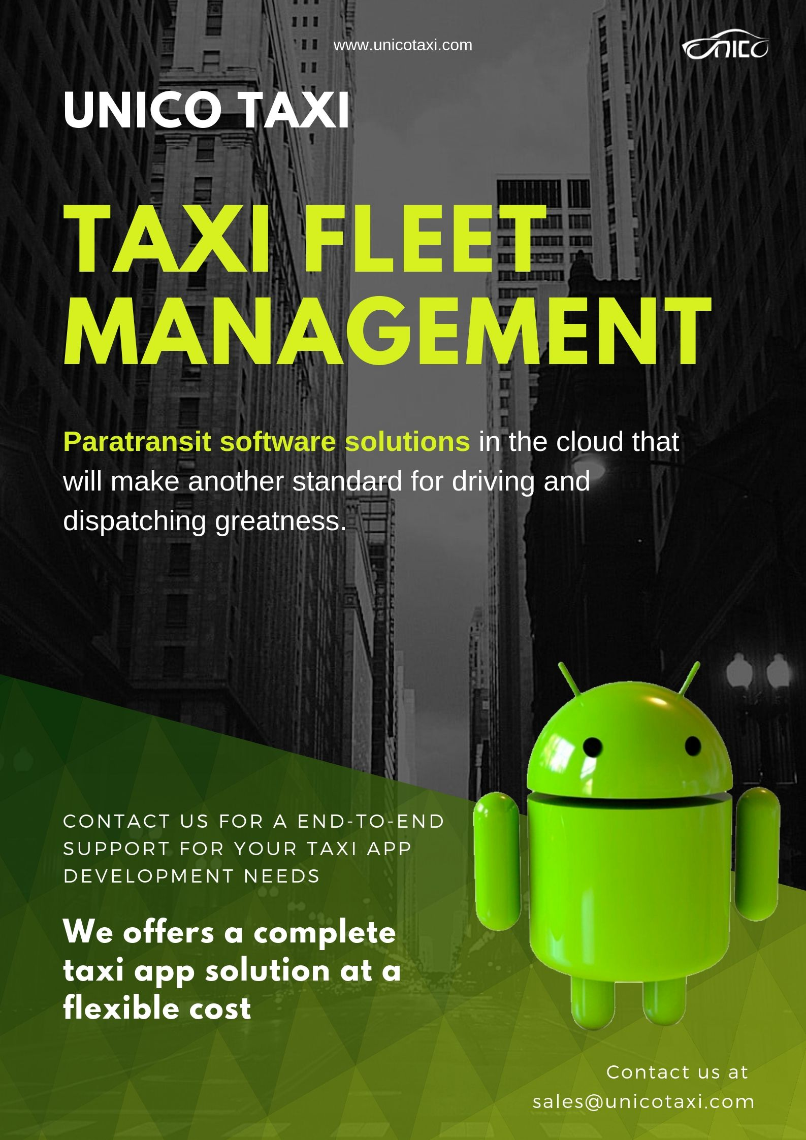 We Easily make a #taxi #fleet #management and paratransit software