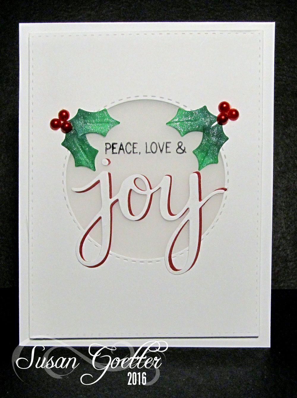 Susan Goetter Christmas Greetings Pinterest Cards Christmas