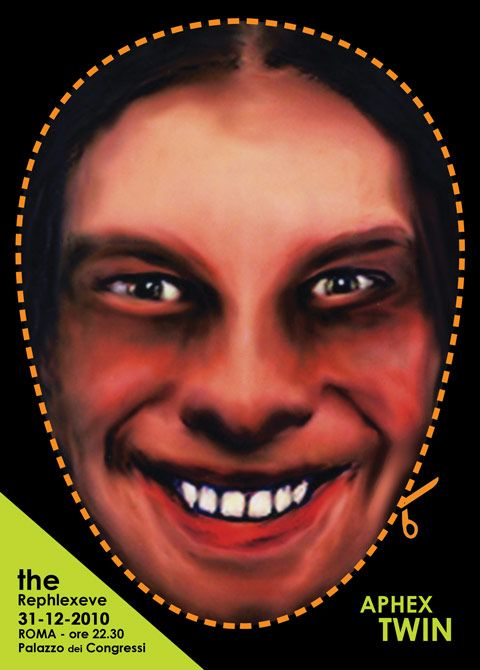 Warp / Records / Aphex Twin / New Years Eve party in Rome