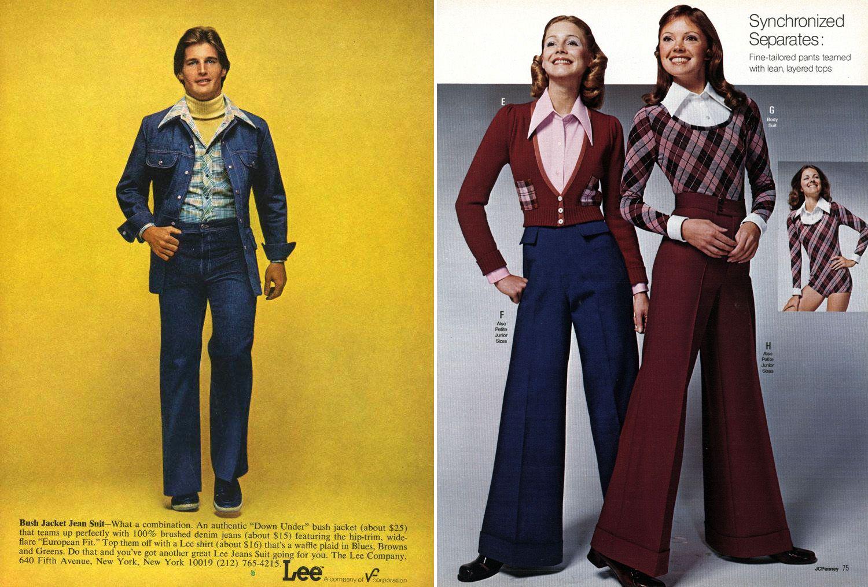 Lee gigantic collars, 1970s