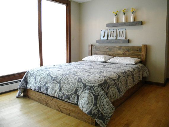 Platform Bed, Headboard, Bed Frame, Beds, Twin, Full, Queen, King ...