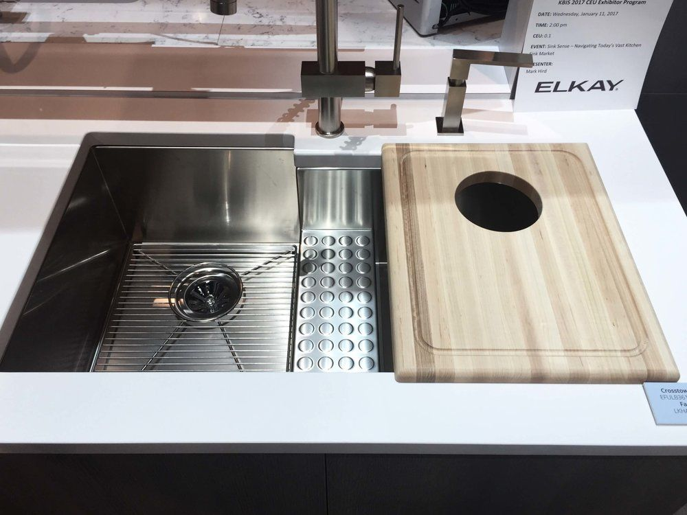 Kitchen And Bath Trends At Kbis 2017 Sinks And Faucets With