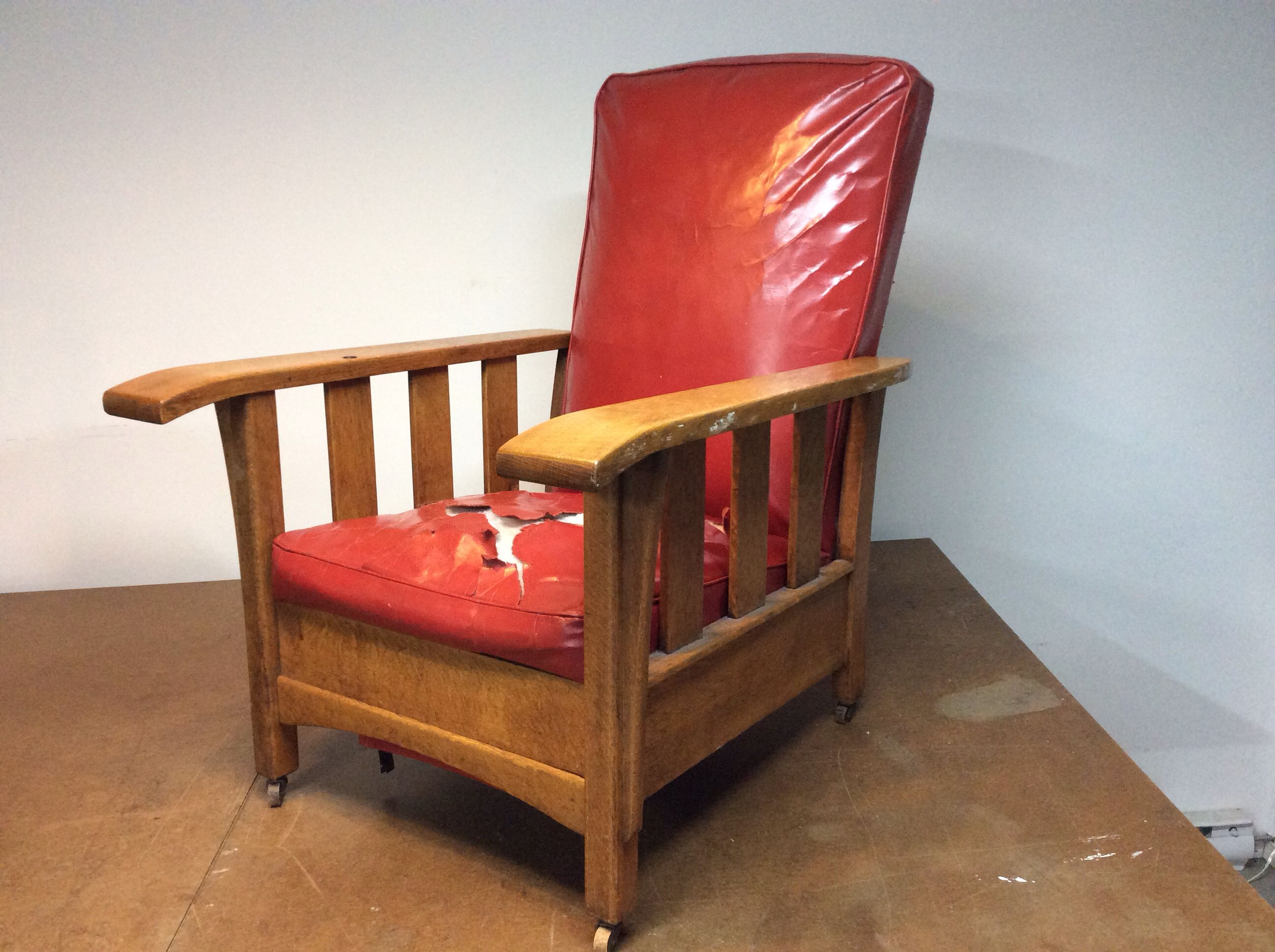 Easy chair recliner - 1920 S Royal Easy Chair Morris Recliner