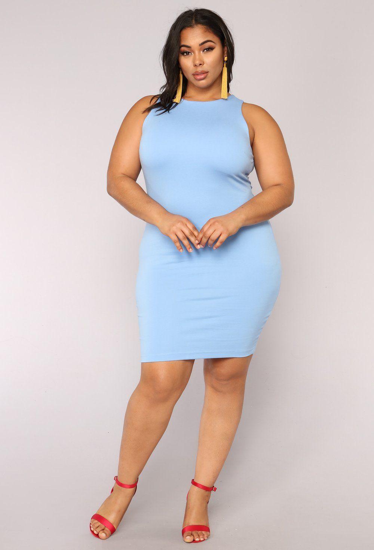 cad1b06dc1 Melinda Body Sculpting Midi Dress - Light Blue in 2019