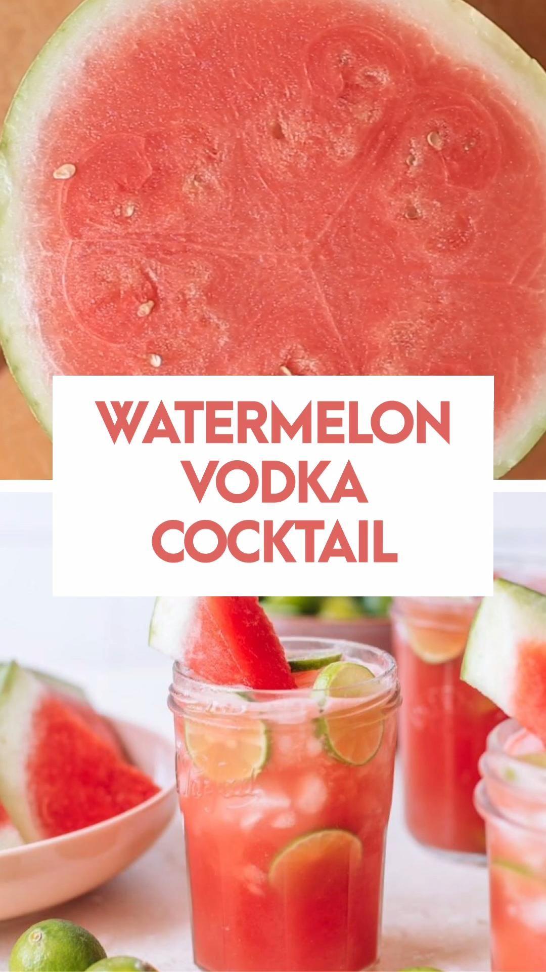 Photo of Watermelon Vodka Cocktail