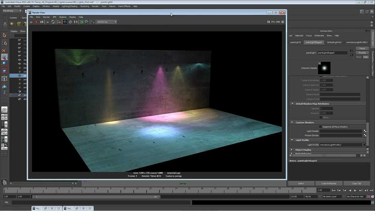 Quicktip what are ies lights tutorial pinterest maya quicktip what are ies lights baditri Gallery