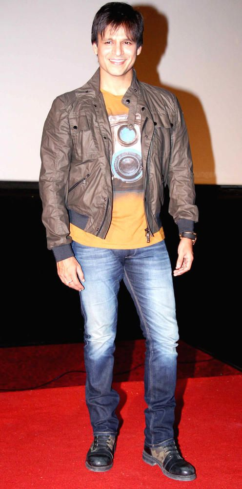 Vivek Oberoi at the trailer launch of 'Krrish 3'. #Bollywood #Fashion