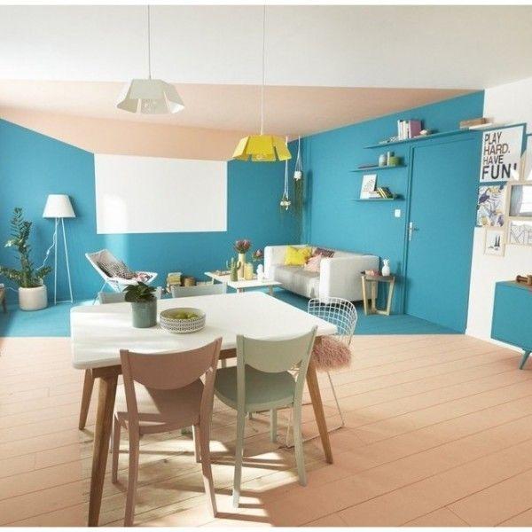 Trends Diy Decor Ideas  Séparation salon et salle à manger avec de