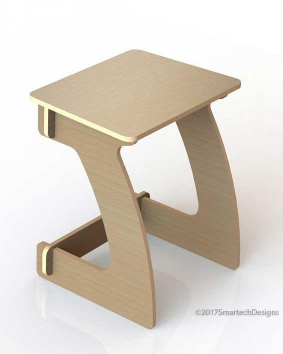 Kids table the kids table is a flat pack slot together for Table flat design