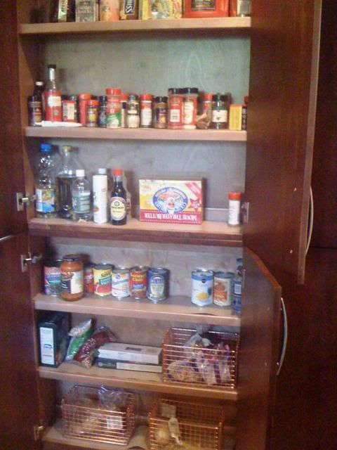 pantry between wall studs is seven inches deep uses three inches of rh pinterest com