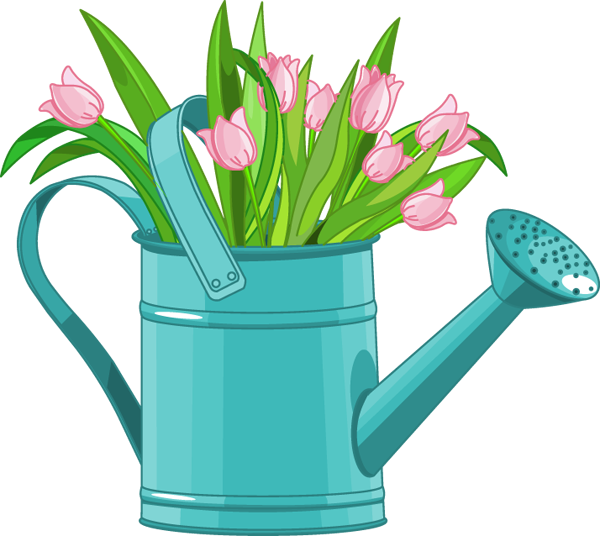Watering-Can-and-Tulips.png (600×536)