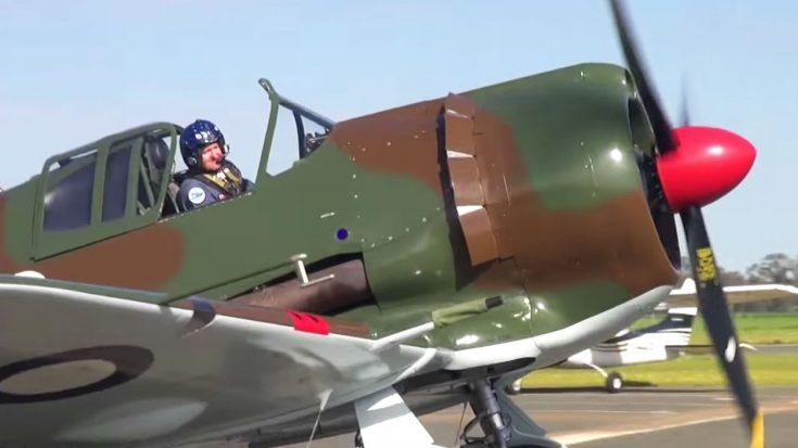 This 'Panic Fighter' Has A Really Chilling Whistle When It Dives | World War Wings Videos  CAC Boomerang.  Australian built fighter.  Less than 250 were ever built