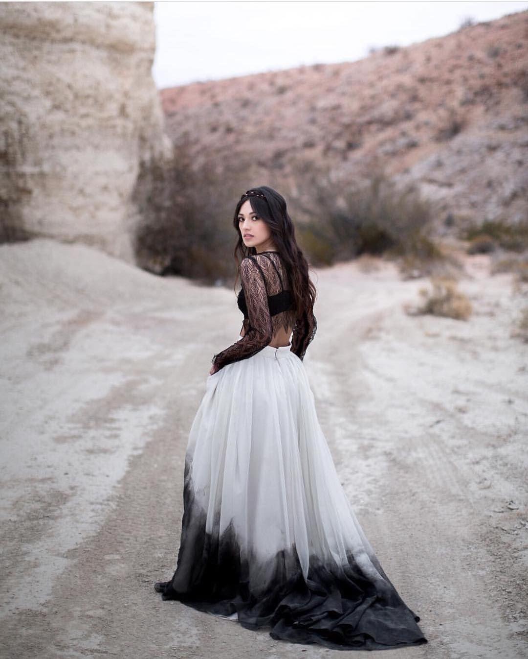 Go Black And White Black White Wedding Dress Black And White Gown Black White Dress Formal [ 1346 x 1080 Pixel ]