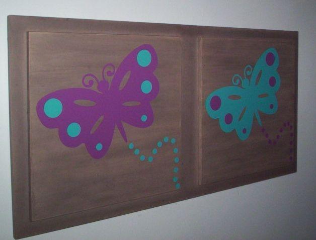 Cuadro con mariposas