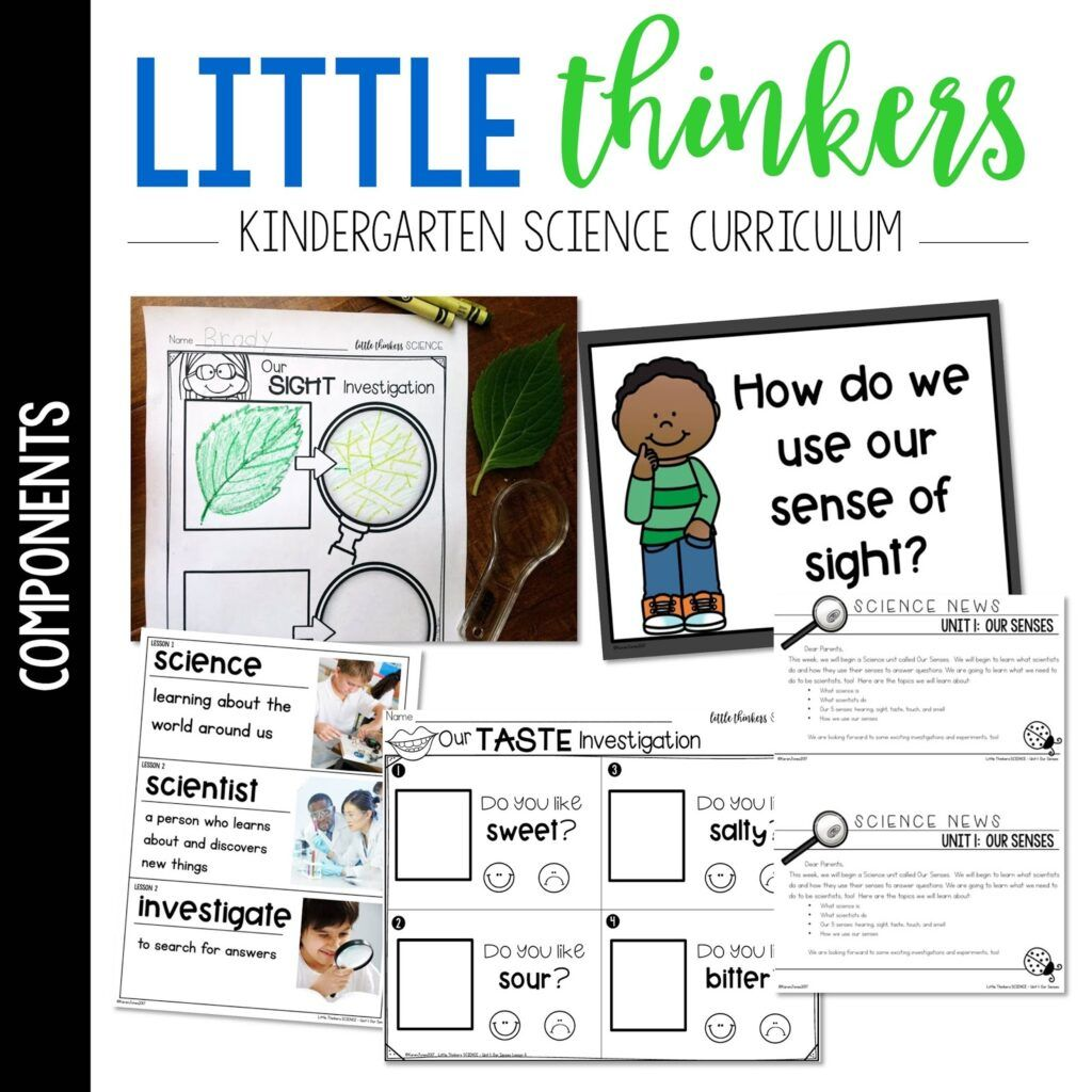 Little Science Thinkers Kindergarten Science Curriculum