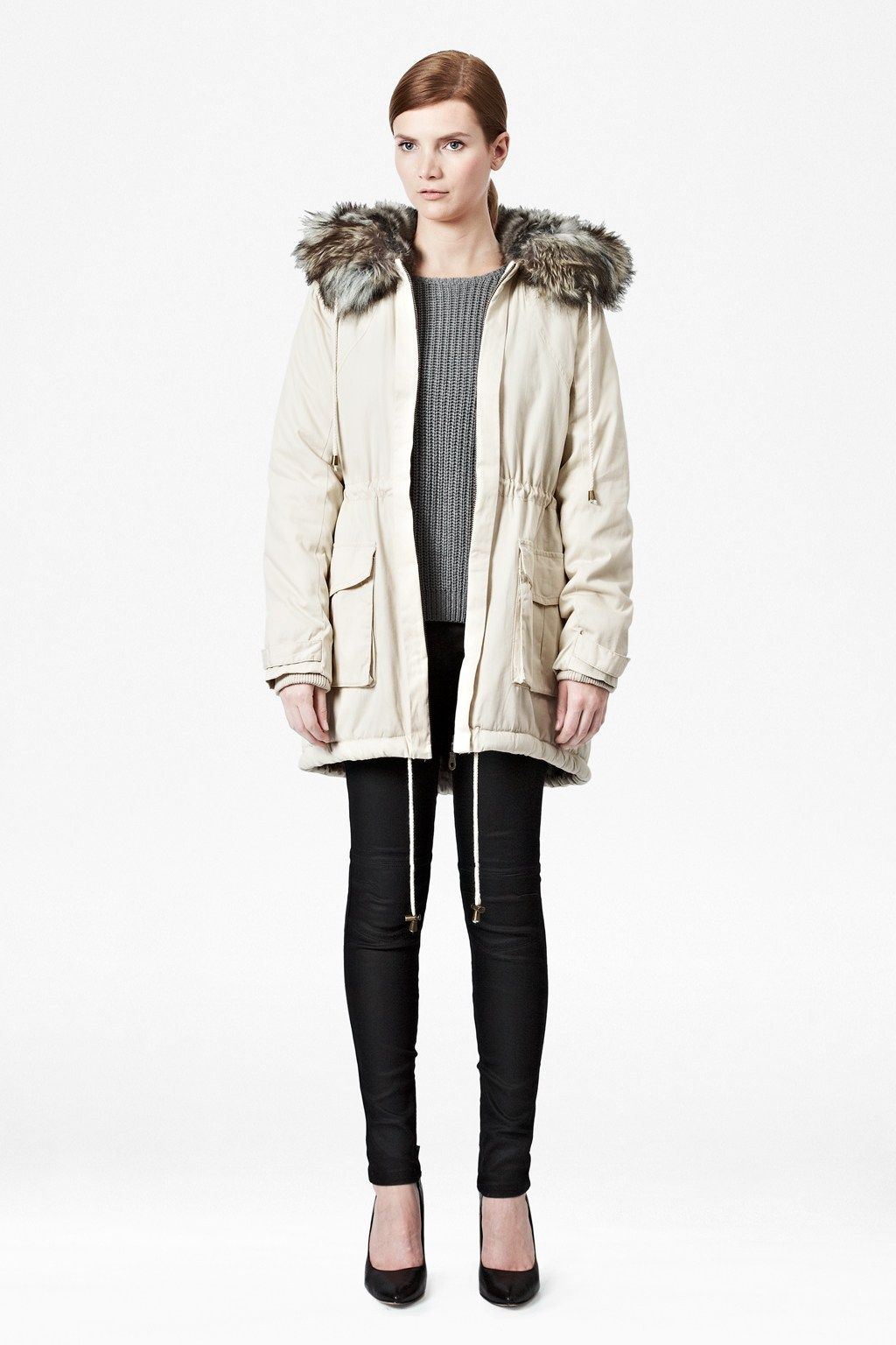 Freda Hooded Parka Coat £220 French Connection | Coats | Pinterest ...