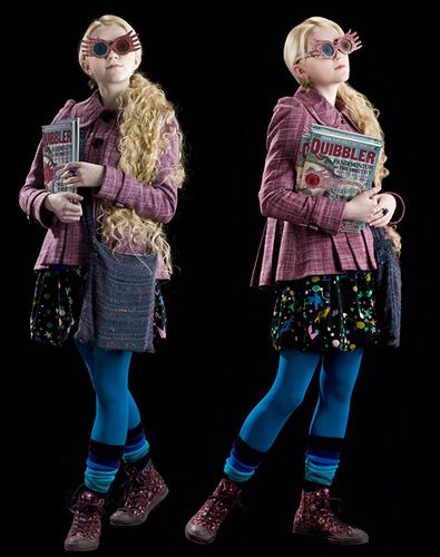 Secret Style Icon Luna Lovegood Luna Lovegood Costume Harry Potter Costume Luna Lovegood Outfits
