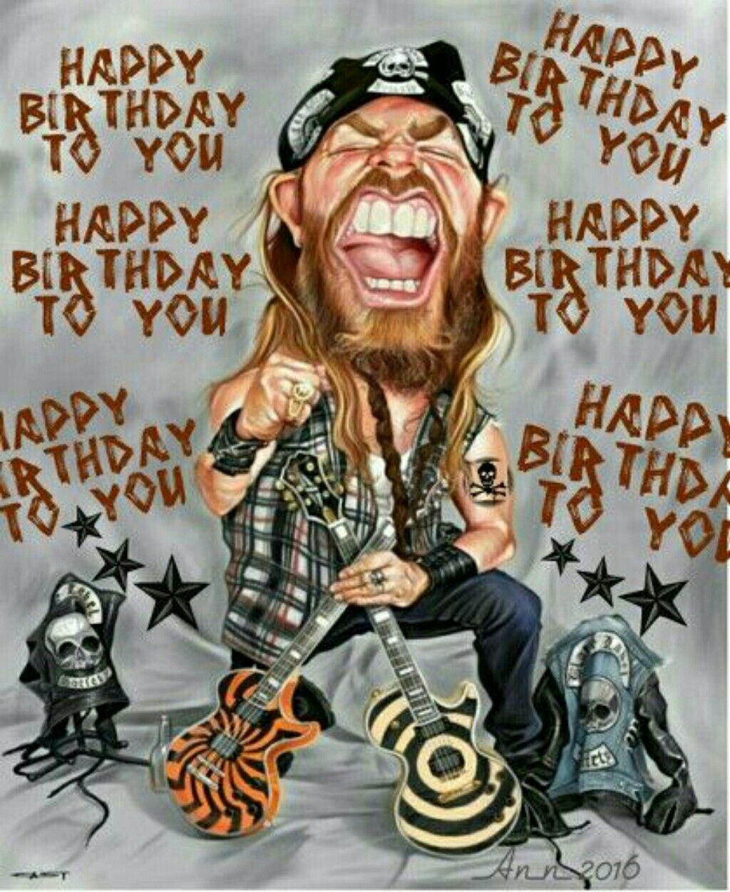Rock N Roll Birthday Wishes Happy Birthday Pinterest Happy