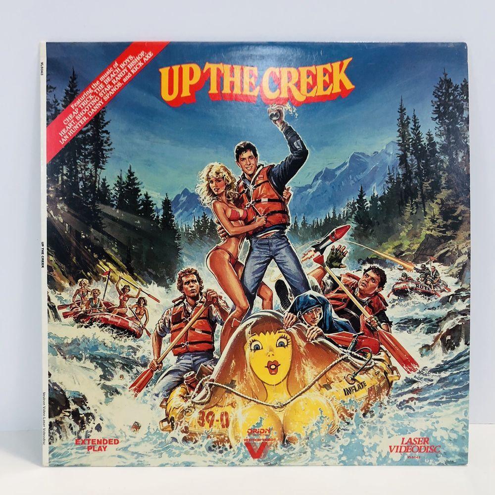 UP THE CREEK Laserdisc (1984) Tim Matheson RARE Great