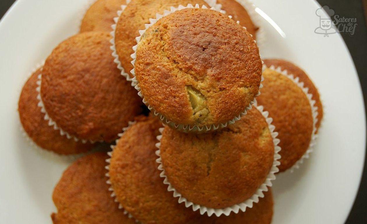 Muffin integral de frutas
