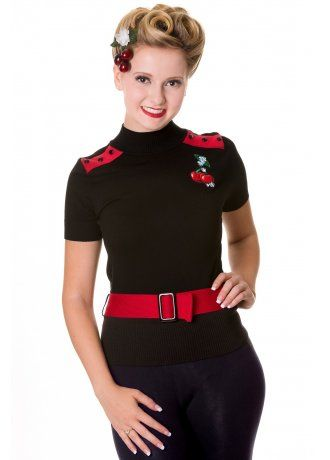 Rock Steady Clothing Pin Up vintage Shirt 50s retro Rockabilly Girlie T-Shirt