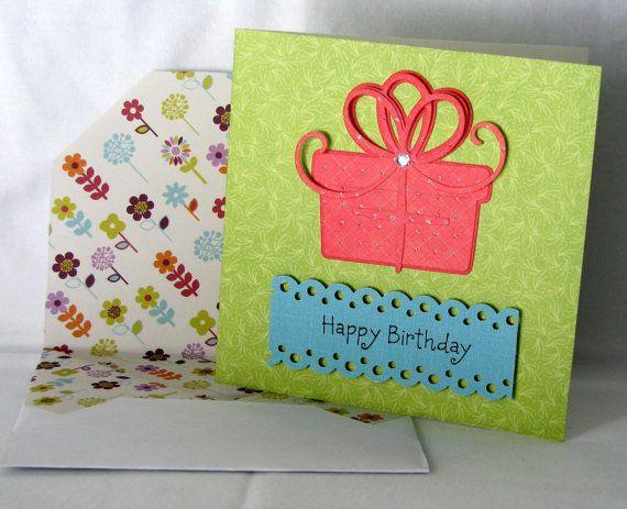 Handmade Birthday Card Card Making Ideas Pinterest Handmade