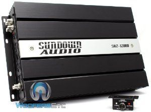SAZ-1200D - Sundown Audio Monoblock 1200W Amplifier by Sundown Audio on