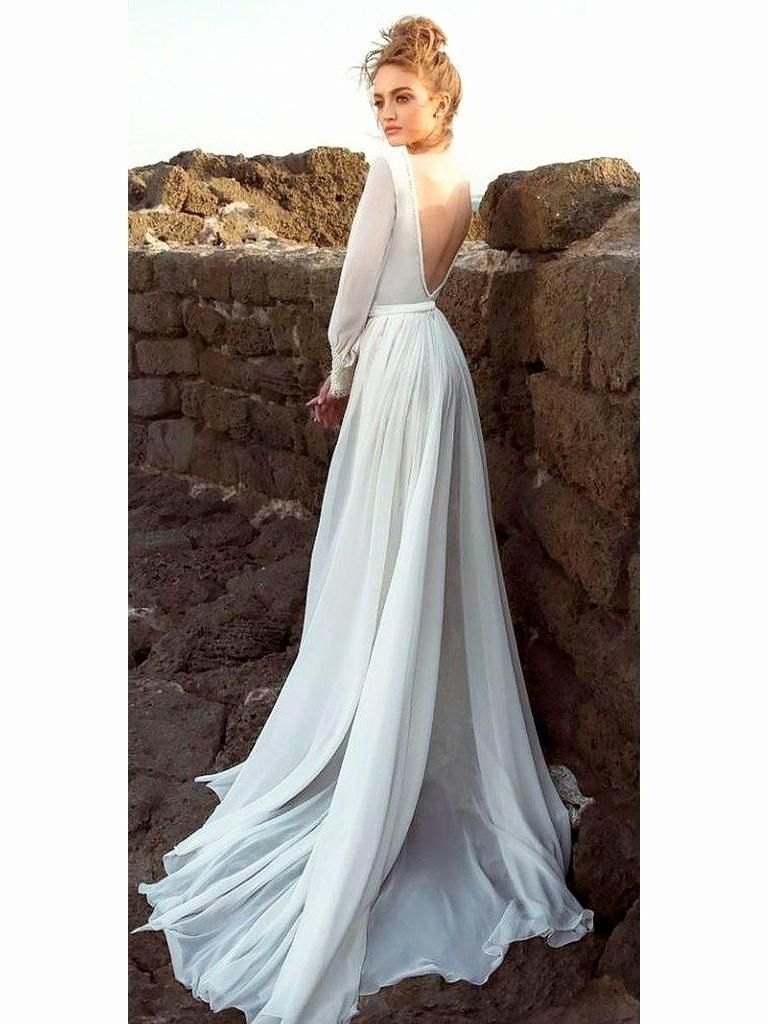 Cost Of Dry Cleaning Wedding Dress Fresh Beach Wedding Dresses Edinburgh Vittne In 2020 Greek Wedding Dresses Backless Wedding Dress Long Sleeve Wedding Dress Backless