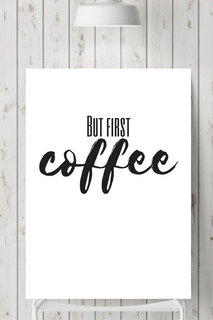 You Can Do This Coffee Print Coffee Quote Wall Print Funny Etsy Wall Quotes Funny Wall Art Coffee Quotes