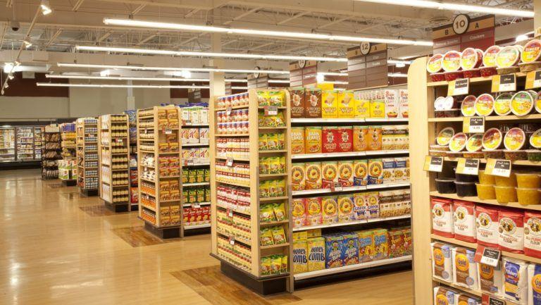 Visual Merchandising Straight Layout Supermarket Design Supermarket Display Visual Merchandising