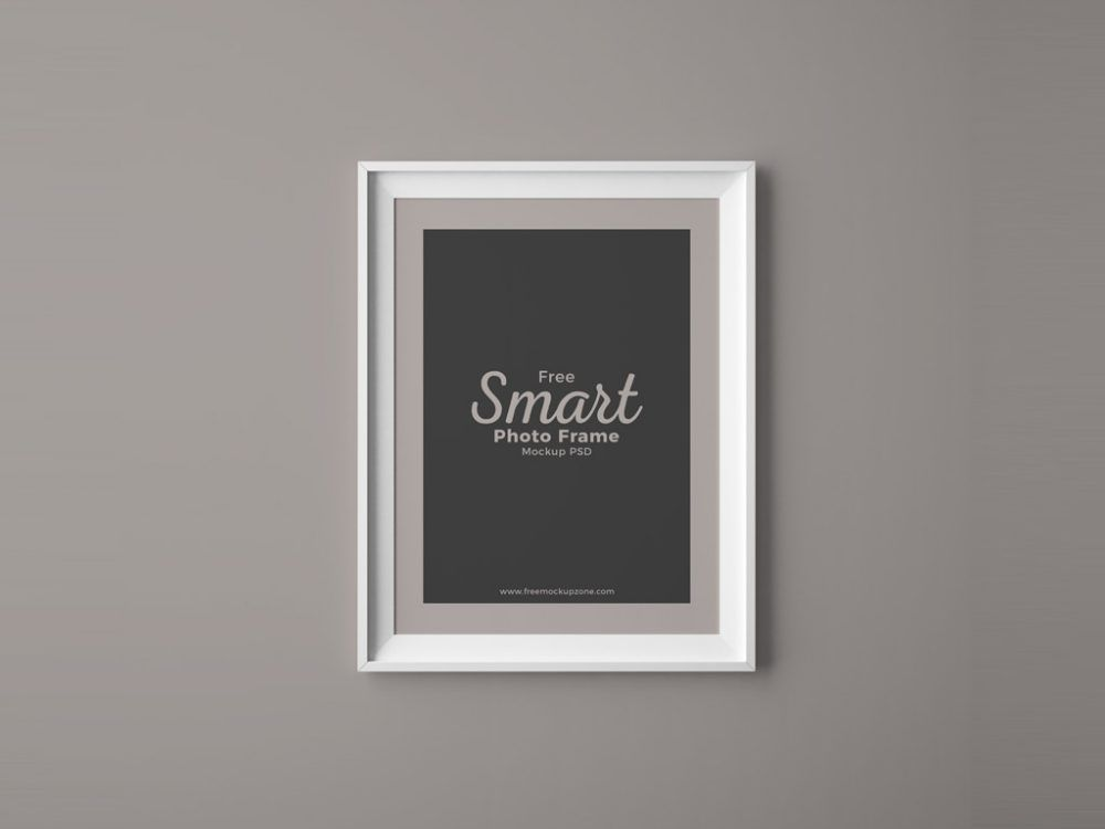 Photo Frame on Wall Mockup | PIMP MY CABLE moodboard | Pinterest ...