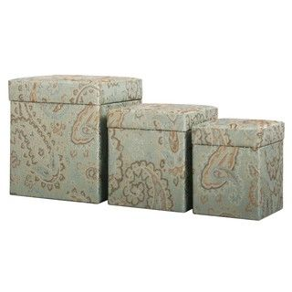 Decorative Fabric Boxes Round Suede Stacking Boxes Set Of 3  Overstock Shopping