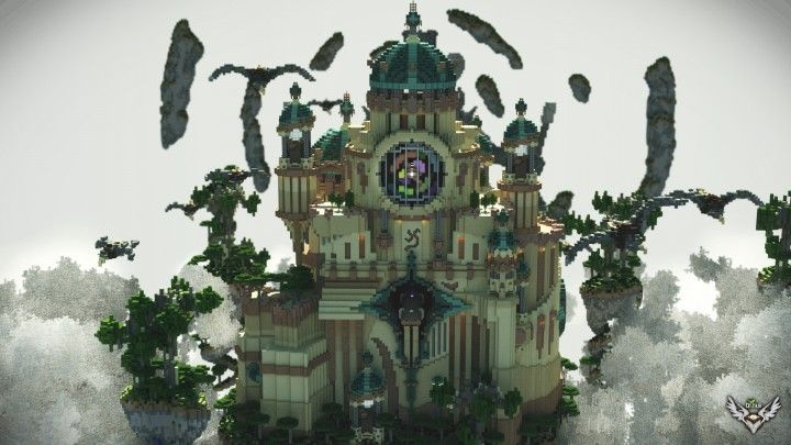 Havenpond Palace Minecraft Project マインクラフト マイクラ 建築