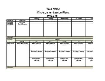 Lesson Plan Template   Lesson Plans Examples   Lesson plan