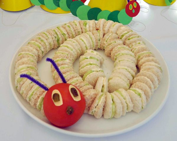 Show Us Your Party Rowan S Very Hungry Caterpillar