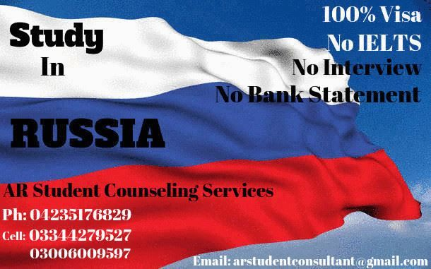 Study In Russia (Under-Matric Can apply) Now Pakistani