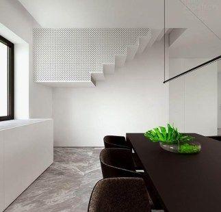Deavita Com Modernes Haus Mit Innenarchitektur In Schwarz