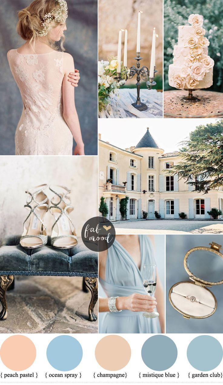 Romantic Provencal Wedding Inspiration In Champagne Peach