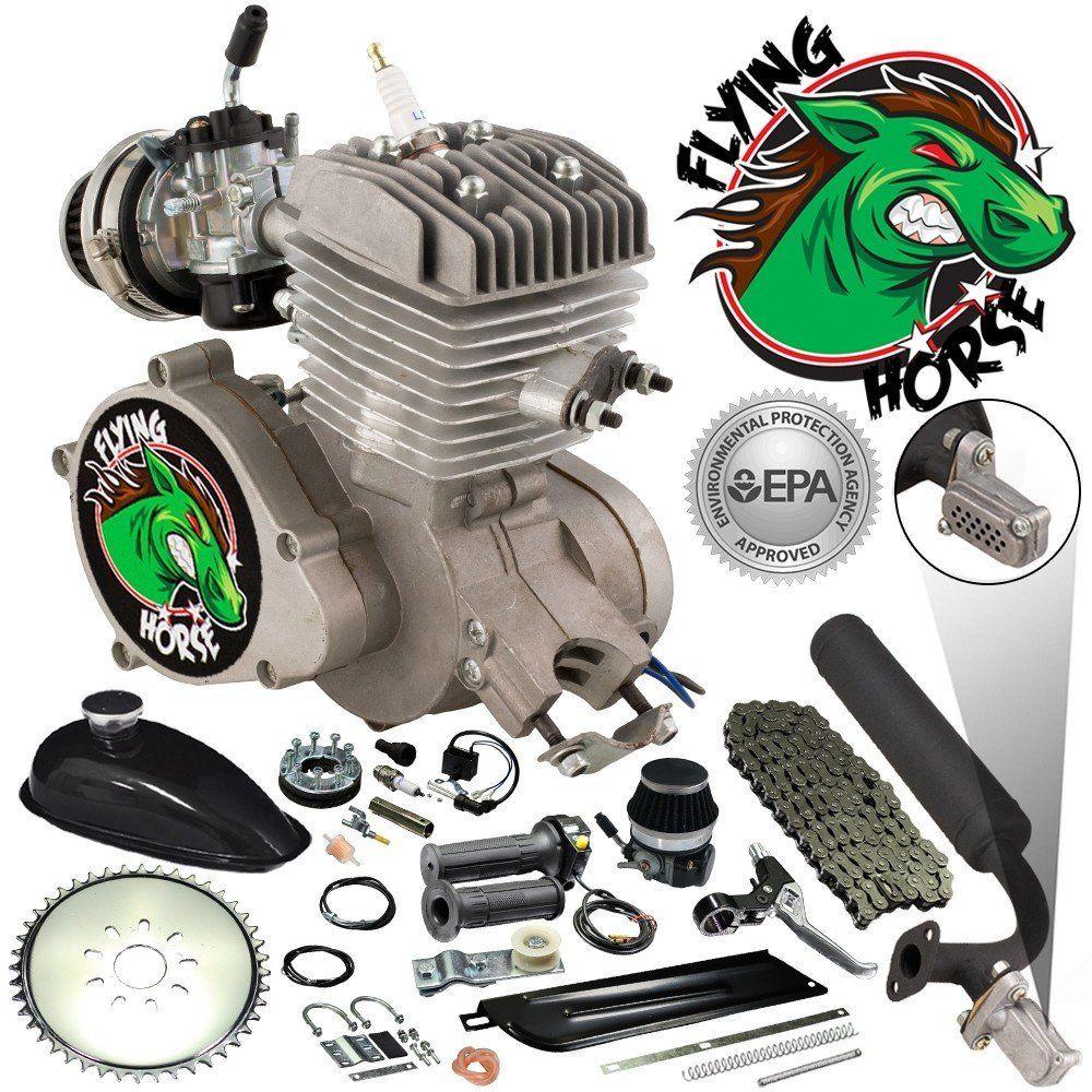 Pulley Wheel 2 Stroke Bicycle Engine Kit Replacment Part Motorized Bike