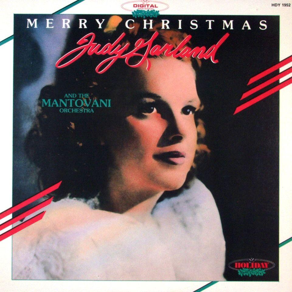 Merry Christmas - Judy Garland with Mantovani | Christmas Album ...