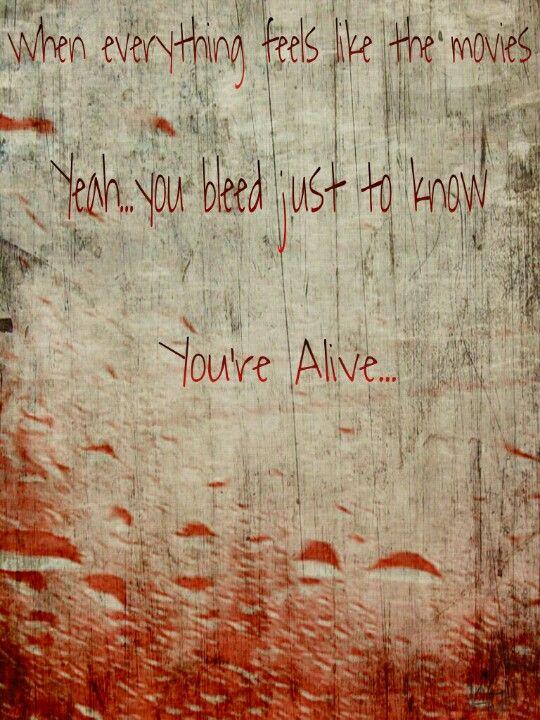 Iris Goo Dolls Lyrics