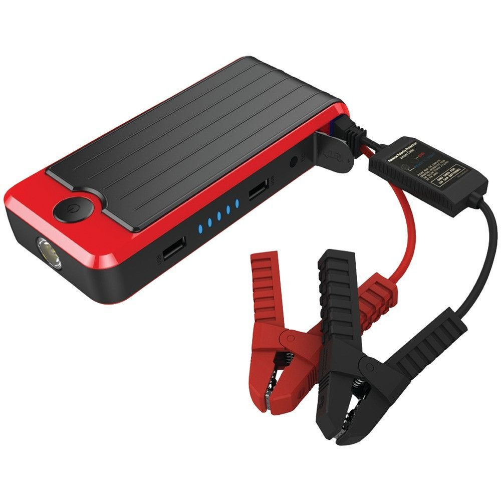 Powerall 600-amp Supreme Jump Starter With 16000mah Power Bank & Led Flashlight