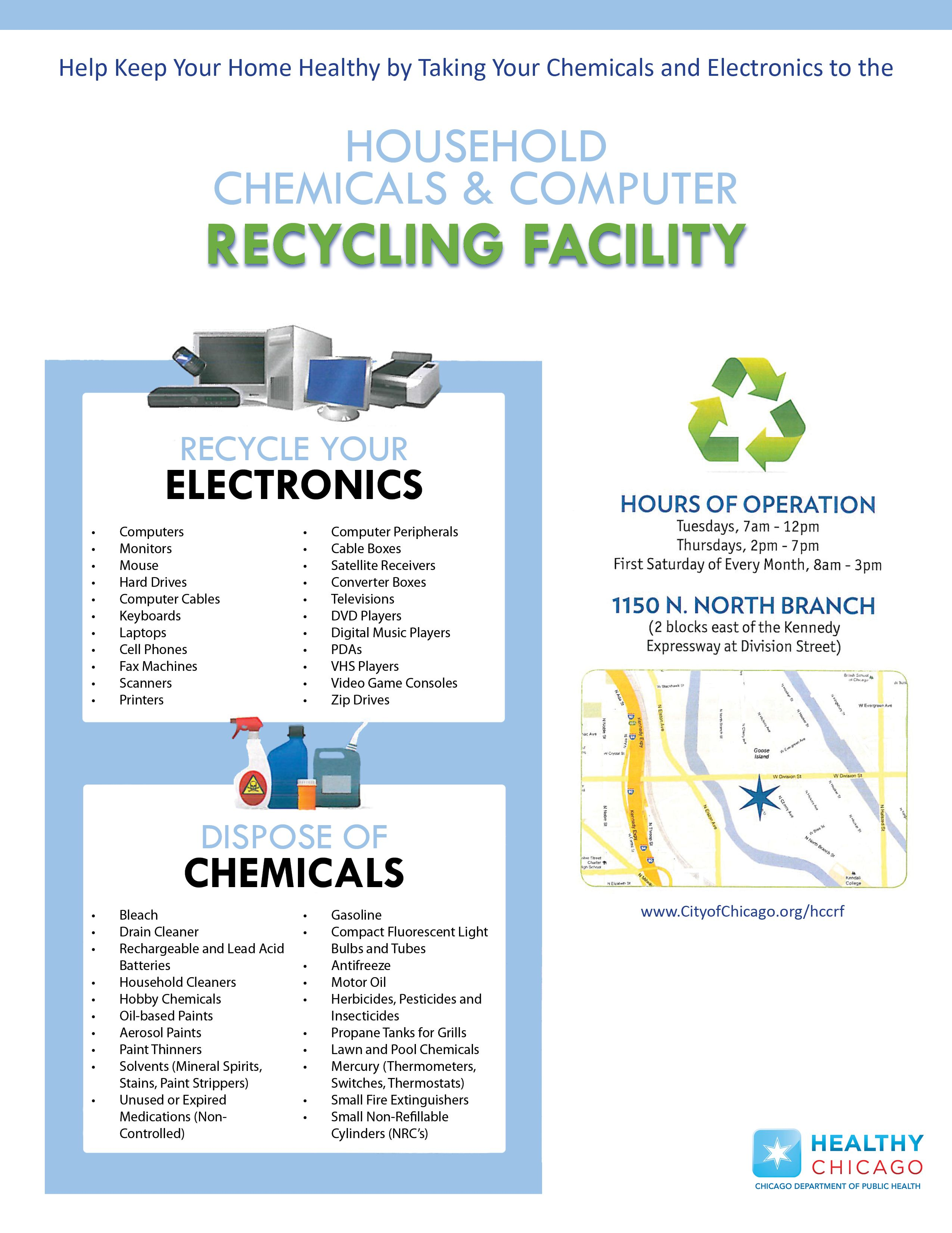 Chicago Electronics Recycling Computer Recycling Recycling Facility Recycling