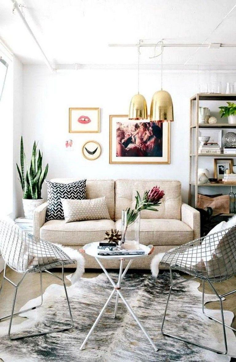 41+ Comfy Small Farmhouse Rustic Living Room Decorating