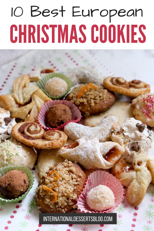 Christmas Cookies Recipes 2020 Best European Christmas Cookies in 2020   Christmas food desserts
