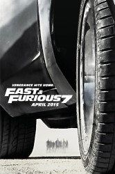 Already looking forward to the release of Fast & Furious 7 & here is a brand new teaser poster to check out.