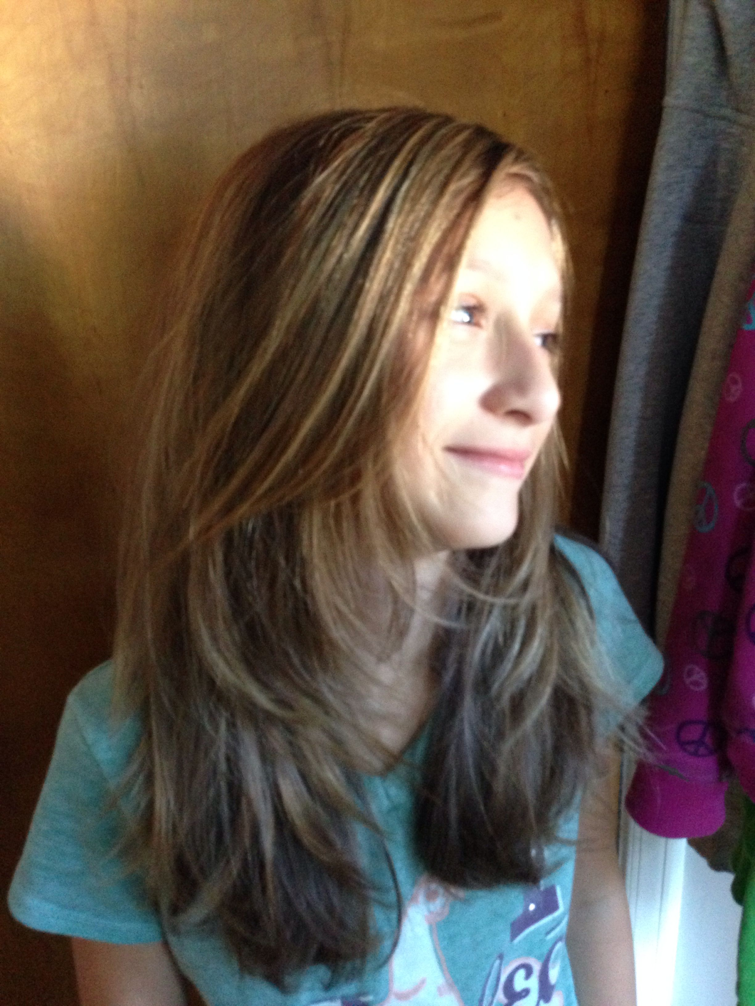 Pin By Sara Kunkel On Sara S Hair Creations Long Layered Hair Tween Girl Haircuts Girl Haircuts