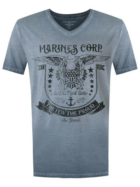 60bcf553fa Ellus Camiseta com estampa