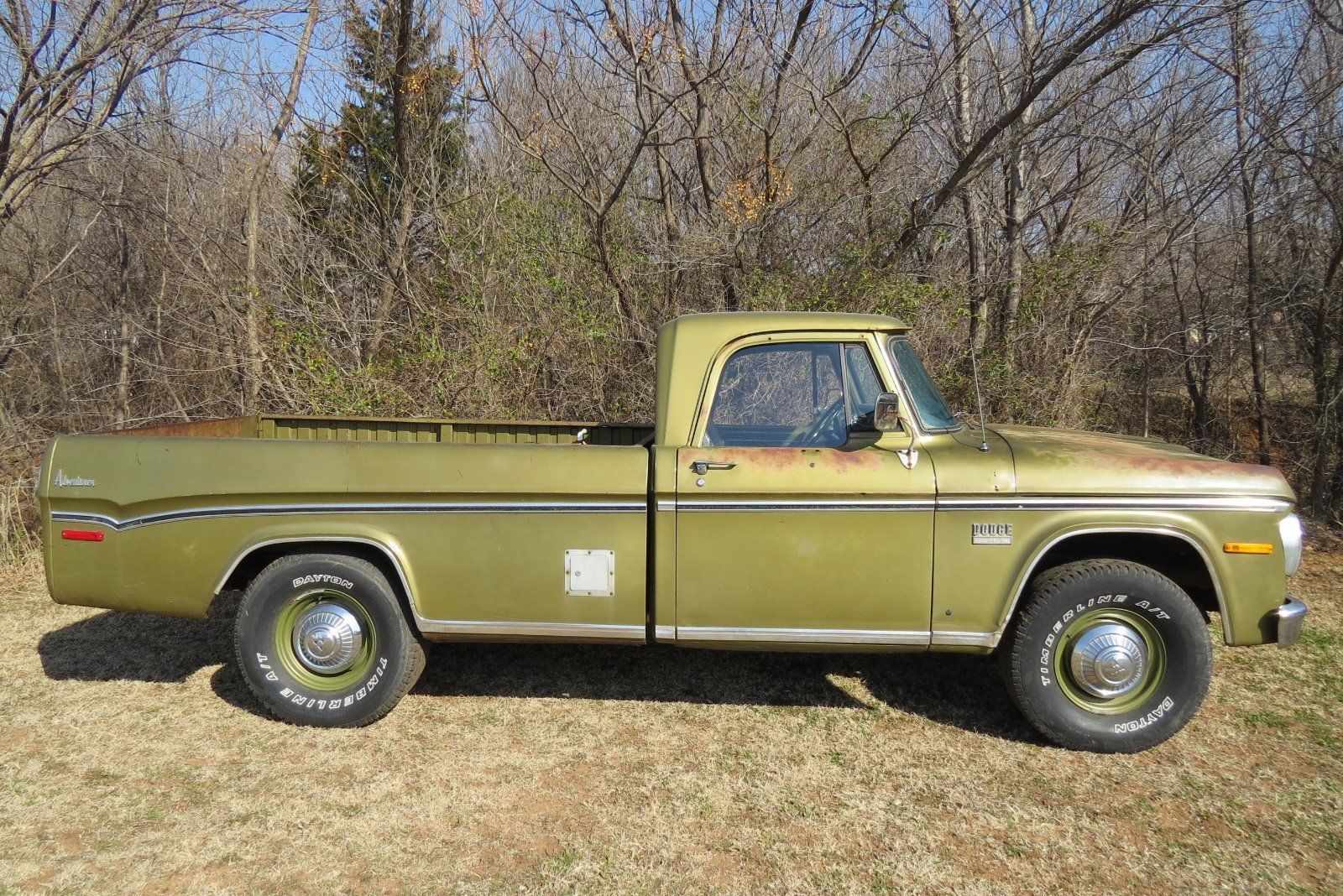 1971 Dodge D200 Camper Special Sweptline 3 4 Ton Pick Up Truck 1976 Chevy