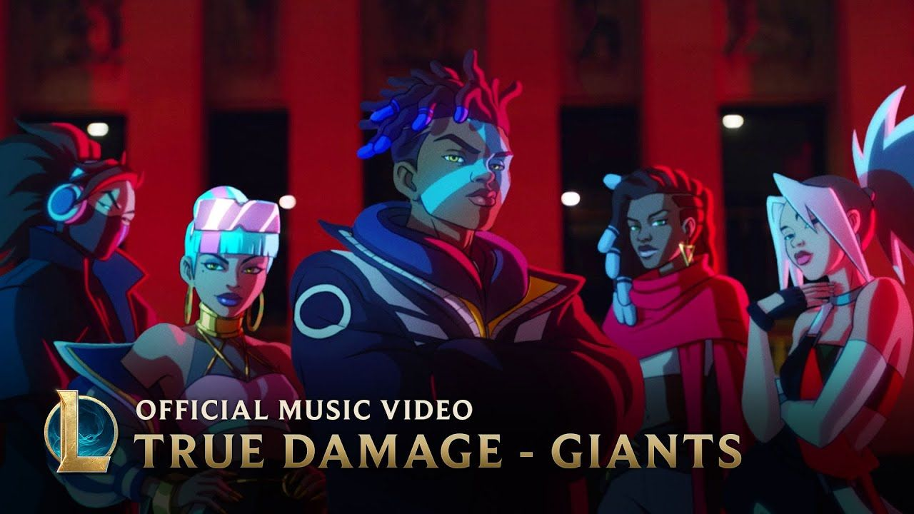True Damage Giants Ft Becky G Keke Palmer Soyeon Duckwrth Thutmose League Of Legends Youtube League Of Legends Becky G Keke Palmer